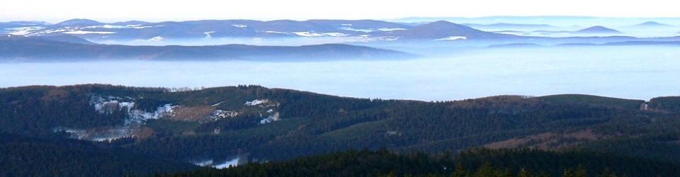 Berggasthof Stöhr auf dem 916 Meter Großen Inselberg