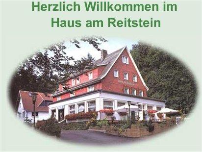 """Pension & Gaststätte """"Haus am Reitstein"""" Inhaber: Waldemar Ahlschläger Kleiner Inselsberg 02 - 98599 Brotterode"""