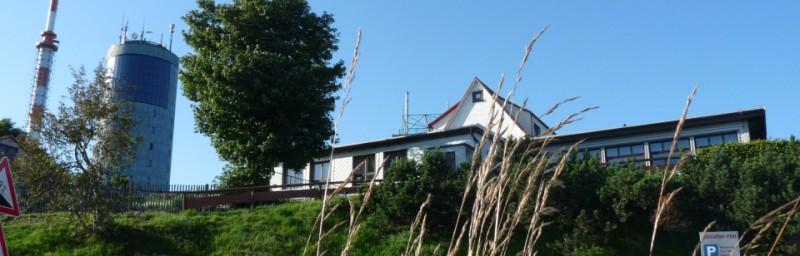 Berggasthof Ausflugsgaststätte Großer inselberg 916 Meter hoch