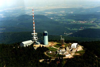 Luftbild Inselberg